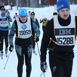 Skiing 90 km - Walter Peter (13059), Alexander Larsson (15288)