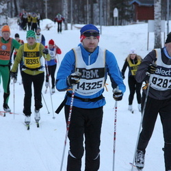 Skiing 90 km - Anders Niklasson (8282), Joshua Bender (14325)