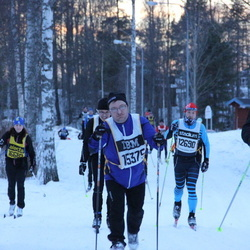 Skiing 90 km - David Edman (15375), Kristoffer Gustafson (15555)