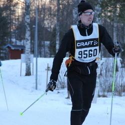 Skiing 90 km - Erik Lindholm (9560)