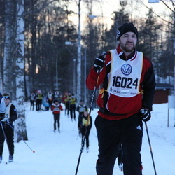 Skiing 90 km - Alexander Madrell (16024)