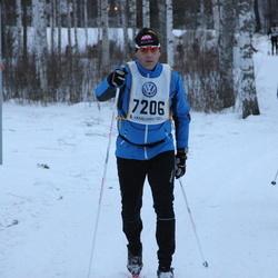 Skiing 90 km - Fredrik Hector (7206)