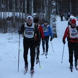 Skiing 90 km - Björn Pettersen (11047), Jan Wikskär (15885)
