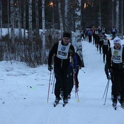 Skiing 90 km - Jan-Olof Wiik (10198), Peter Somvall (13522)