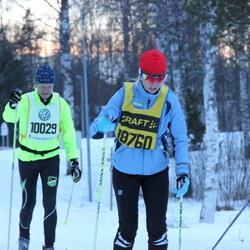 Skiing 90 km - Dick Nyman (10029), Beate Berntsen (18760)