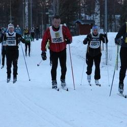 Skiing 90 km - Donald Filion (11586), Per Anders Jansson (11960), Daniel Johansson (13972)