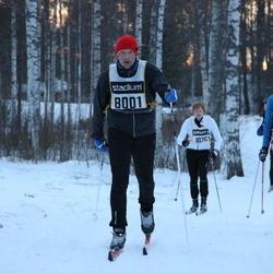 Skiing 90 km - Mats Ericsson (8001), Christian Houborg (14821)