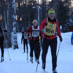Skiing 90 km - Jan-Eric Isaksson (9792), Lena G Mathson (18541)