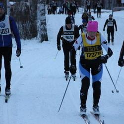 Skiing 90 km - Conradh Wänndahl (11411), Henrik Nyström (15031), Susan Fabius (17278)