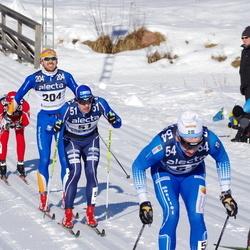 Skiing 90 km - Fredrik Byström (51), Anton Järnberg (54), Björn Thomas Nygaard (204)