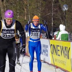 Skiing 90 km - Krister Jonsson (2113), Arne Jörgen Arnesen (2120)