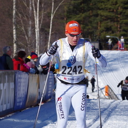 Skiing 90 km - Henrik Granström (2242)