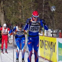 Skiing 90 km - Jonas Johansson (2069), Alexander Sjögren (2131)
