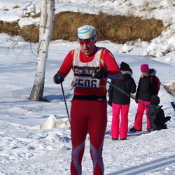 Skiing 90 km - Christer Olsson (2506)