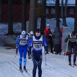 Skiing 90 km - Andreas Grann (1287), Johan Olsson (2145)