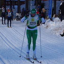 Skiing 90 km - Henrik Zenob (3213)