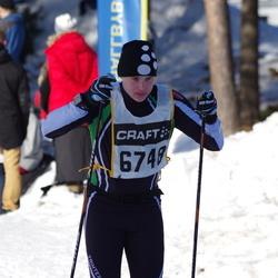 Skiing 90 km - Fredrik Mäki (6748)