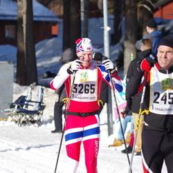 Skiing 90 km - Ronald Meusel (2452), André Borka (3265)