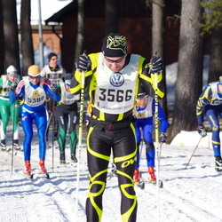 Skiing 90 km - Jari Sjöström (3566)