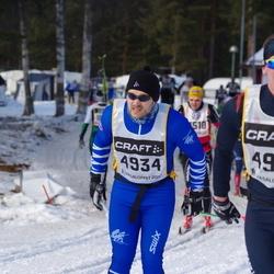 Skiing 90 km - Stian Rönning (4934), Henrik Andersson (4943)