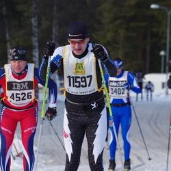 Skiing 90 km - Henrik Hermansson (4526), Thomas Granholm (11597)