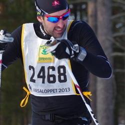 Skiing 90 km - Jean-Philippe B. Gagnon (2468)