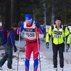 Skiing 90 km - Henrik Hördegård (4598), Anders Hedman (5531)