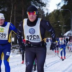 Skiing 90 km - Christer Obbarius (4260), Per Gidlund (5395)