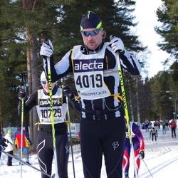 Skiing 90 km - Jannes Dahlgren (4019)
