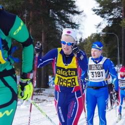 Skiing 90 km - Christian Anderberger (3181), Evelin Gustafsson (18958)