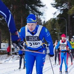 Skiing 90 km - Christian Anderberger (3181)