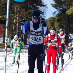 Skiing 90 km - Christer P Hördell (3805)