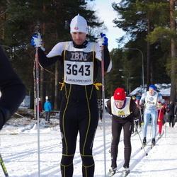 Skiing 90 km - Björn Sjöberg (3643)