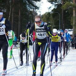 Skiing 90 km - Carl-Olov Hansen (4815), Egil Engen (4922)