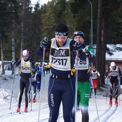 Skiing 90 km - Erik Lidholm (12317)