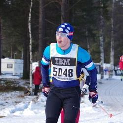 Skiing 90 km - Henrik Holma (5048)