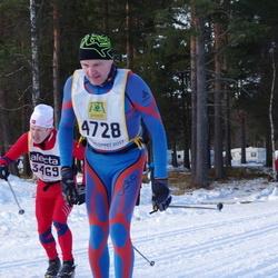 Skiing 90 km - Björn Kåre Gjerde (3469), Mikael Bergroth (4728)