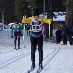 Skiing 90 km - Christer Hagberg (5107)