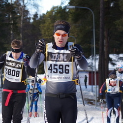 Skiing 90 km - Henrik Jansson (3808), Lars Landenberg (4596)