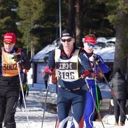 Skiing 90 km - Henrik Saldner (3196)
