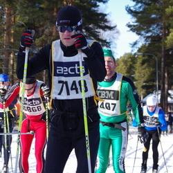 Skiing 90 km - Henrik Bohlin (7148)