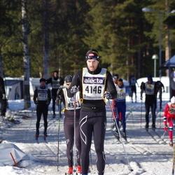 Skiing 90 km - Andreas Erlingsjö (4146)
