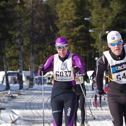 Skiing 90 km - Henrik Nilsson (5413), Björn Johansson (6037)