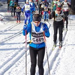 Skiing 90 km - Fredrik Liljesäter (5449)