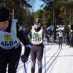 Skiing 90 km - Anders Jorholm (4604), Olof Axelhed (5341)