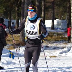 Skiing 90 km - Dennis Pribisalic (5800)