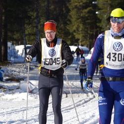 Skiing 90 km - Fredrik Häggström (4308), Are Wallin (15045)