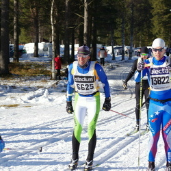 Skiing 90 km - Alessandro Deflorian (6625), Jens Hermansson (13822)