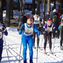 Skiing 90 km - Thomas Dovander (4262), Peter Boss (5640), David Kleman (11305), Antti Kokko (11556)