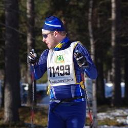 Skiing 90 km - Anders Larsson (11499)